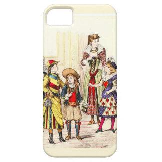 Fancy dress iPhone SE/5/5s case