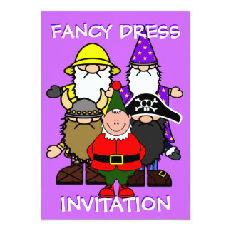 Fancy Dress Party Card