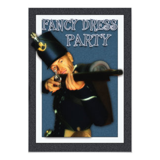 Fancy Dress Party - Hussar Foot Soldier Invite