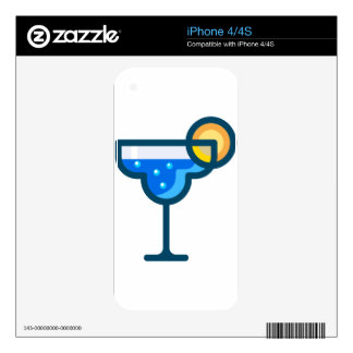 Fancy Drink Skin For The iPhone 4S