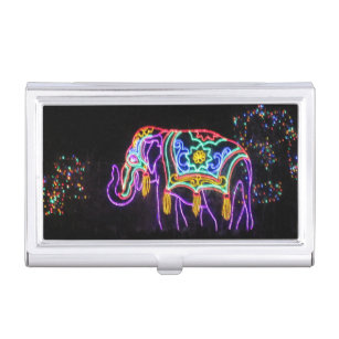 Fancy business card holders cases zazzle fancy elephant business card holder colourmoves