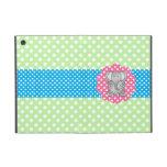Fancy elephant polka dots cases for iPad mini