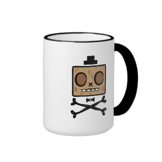 Fancy Face Ringer Mug
