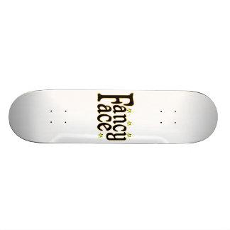 Fancy Face Skateboard Deck
