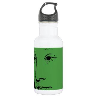 Fancy Face Water Bottle