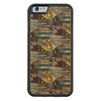 Fancy Fantail Goldfish Carved® Maple iPhone 6 Bumper