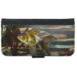 Fancy Fantail Goldfish iPhone 6/6s Wallet Case