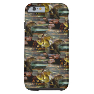 Fancy Fantail Goldfish Tough iPhone 6 Case
