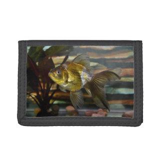 Fancy Fantail Goldfish Trifold Wallet
