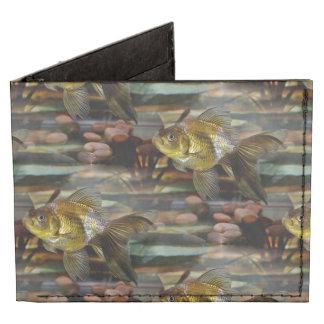 Fancy Fantail Goldfish Tyvek Wallet