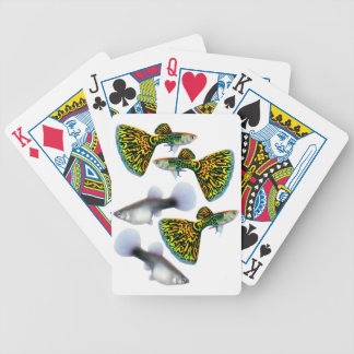 Fancy Fantail Guppy Fish Playing Cards