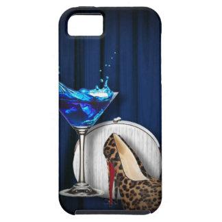 fancy fashion girly martini stilletos iPhone SE/5/5s case