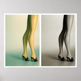 Fancy Feet Poster