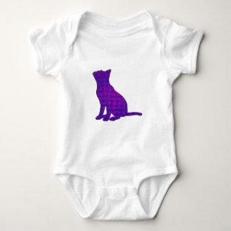 Fancy Feline Baby Bodysuit