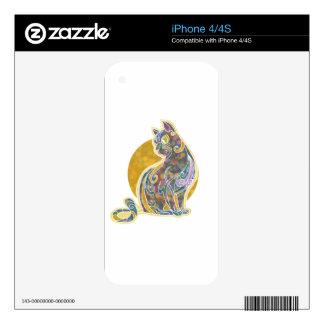 Fancy Feline iPhone 4S Skins