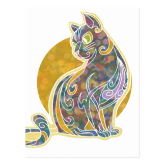 Fancy Feline Postcard