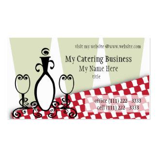 Fancy Fine Restaurant Business Card