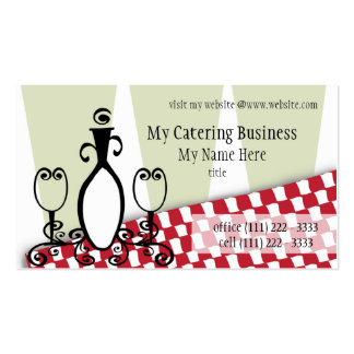 Fancy Fine Restaurant Business Cards