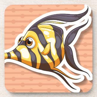 Fancy fish drink coasters