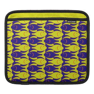 Fancy Fish Pattern iPad Sleeves
