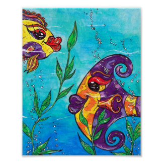 Fancy Fish Print