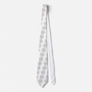 Fancy Fishing Hooks Flower Design Tie