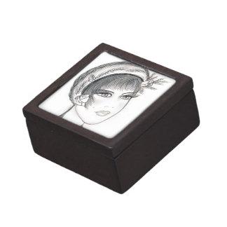 Fancy Flapper Jewelry Box