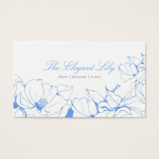 Fancy Floral Business Card