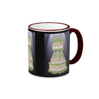 Fancy Floral Cake Mug