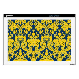 Fancy Floral Damask Skin For Laptop