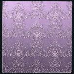 "Fancy Floral Lavender Purple Damask Pattern Cloth Napkin<br><div class=""desc"">A lovely lavender and purple damask pattern I created.</div>"