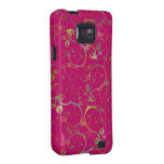 Fancy Floral Samsung Galaxy Cover