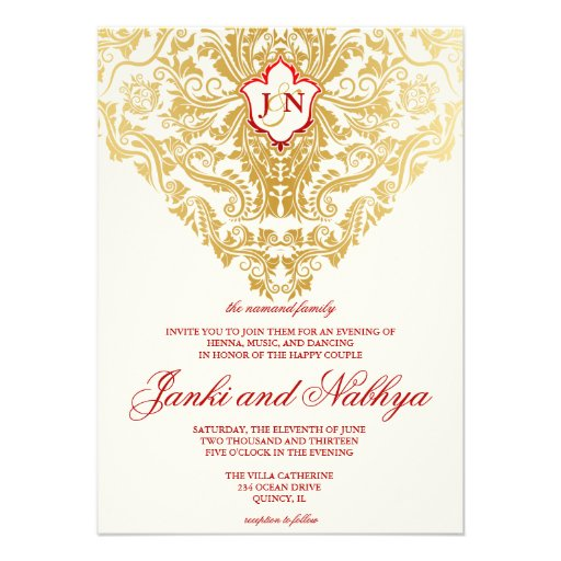 Arabic Wedding Invitations can inspire you to create best invitation template