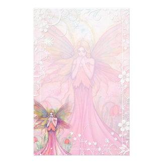 Fancy Flower Fairy Stationery by Molly Harrison
