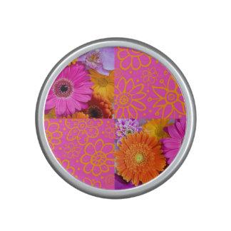 Fancy Flowers Bluetooth Speaker