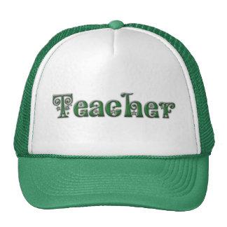 Fancy Font Teacherr Trucker Hat