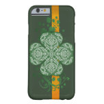 Fancy Four Leaf Clover iPhone6 Barely There Case Barely There iPhone 6 Case
