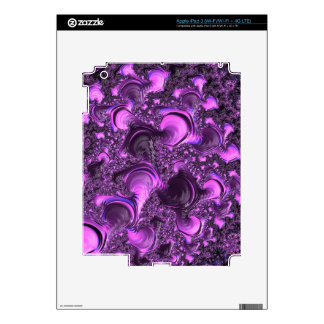 Fancy Fractal Art Pattern Decals For iPad 3