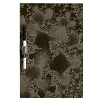 Fancy Fractal Art Pattern Dry-Erase Board