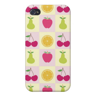 Fancy Fruits Cover For iPhone 4