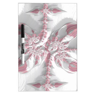 Fancy & Fun Fractals With Cool Mandala Patterns Dry-Erase Board