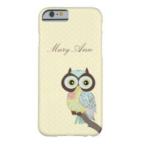 Fancy Funky Owl iPhone 6 case
