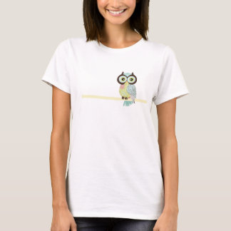 Fancy Funky Owl Women's T Shirts