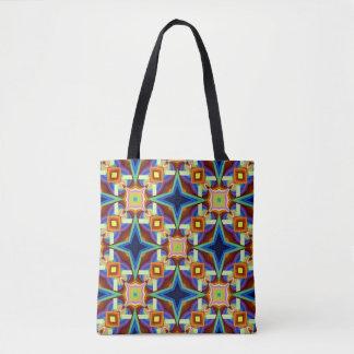 Fancy Geometric  design Tote Bag