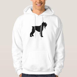 Fancy Giant Schnauzer Hooded Sweatshirt