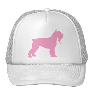 Fancy Giant Schnauzer (pink) Trucker Hat