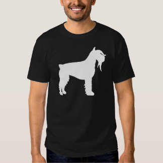 Fancy Giant Schnauzer (white) T Shirt