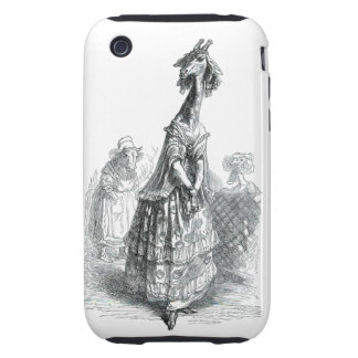Fancy Giraffe iPhone 3 Tough Cover