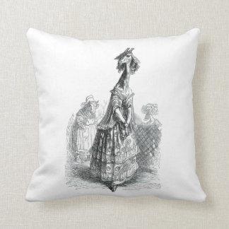 Fancy Giraffe Throw Pillows