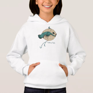 Fancy Girl Fish Hoodie